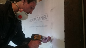 Drilling wall insulation 2